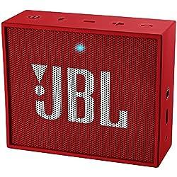 JBL GO Ultra Altoparlante Bluetooth Ricaricabile, Portatile, con Aux-In, Compatibile con Smartphone, Tablet e Dispositivi MP3, Rosso