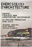 echange, troc Collectif - Exercice(s) d'architecture
