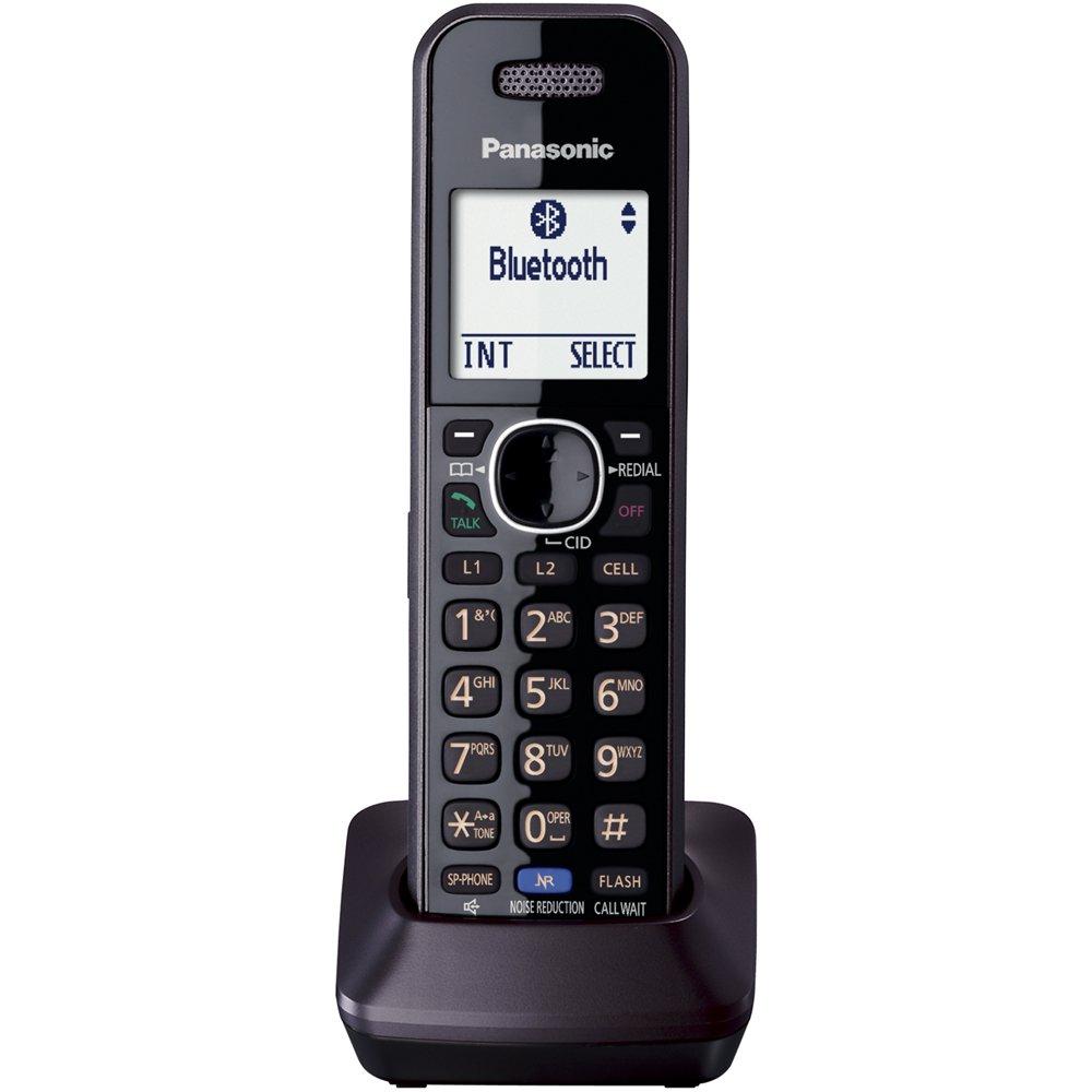 Telefonos-fijos Panasonic, Panasonic KXTGA950B Dect_6.0 2 línea auricular Extra para KX TG95XX serie teléfonos teléfonos inalámbricos  en Veo y Compro
