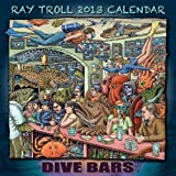 "2013 Ray Troll Calendar ""Dive Bar"""