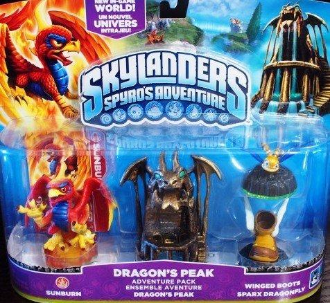 Skylanders Spyro's Adventure Dragon's Peak Adventure Pack
