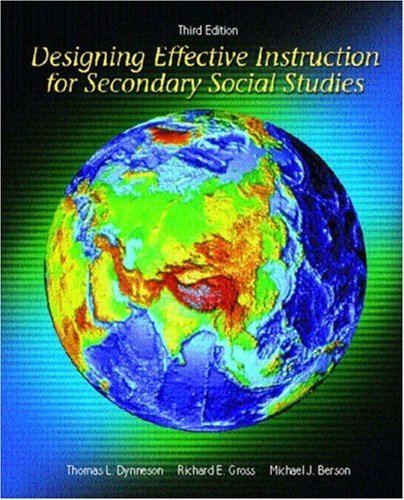 Designing Effective Instruction for Secondary Social...