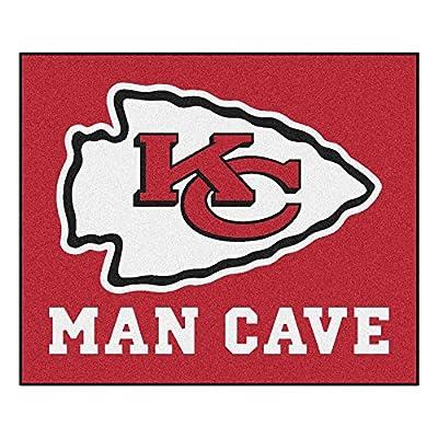 FANMATS 14323 NFL Kansas City Chiefs Nylon Universal Man Cave Tailgater Rug