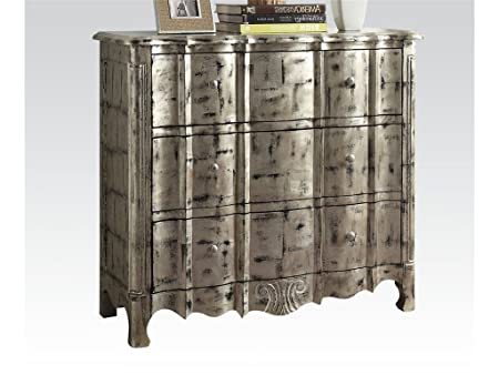 Bedroom Bombay Chest Antique Silver by Acme Furniture