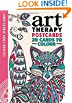 Art Therapy Postcards (Colour Your St...