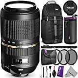 Tamron AF 70-300mm f 4.0-5.6 SP Di VC USD XLD Lens for CANON DSLR Cameras w Essential Photo and Travel Bundle