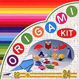 Origami Loisirs - Loisirs Créatifs - Origami Kit 24 Modèles - Notice Illustrée + 82 Feuilles de Papier Origami - 15cm x 15cm...