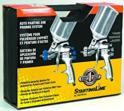 Devilbiss StartingLine Paint Priming HVLP Spray Gun Kit