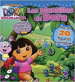 PLANTILLAS DE DORA, LAS: Varios: 9781445472782: Amazon.com: Books