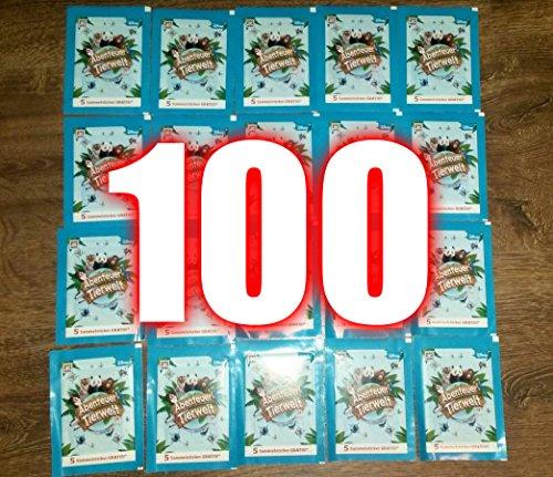 100-sticker-abenteuer-tierwelt-rewe-aktuelle-aktion-2016-was-ist-was-abenteuer-tierwelt-2016-neu-ovp