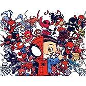 アメリカンコミックス マーベルキャラクター ポスター スパイダーバース by スコッティ・ヤング / MARVEL COMICS POSTER SPIDER-VERSE BY SKOTTIE YOUNG スパイダーマン