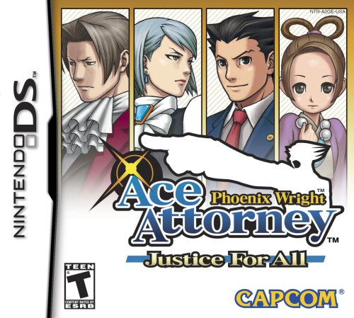 Phoenix Wright: Justice For All - Nintendo DS (Ace Attorney Dual compare prices)