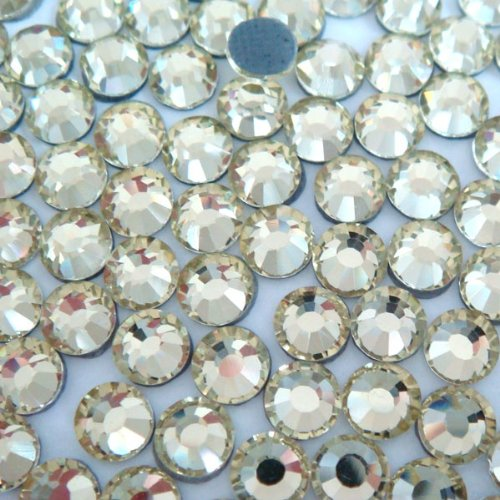 NEW ThreadsRus CZECH Quality 10gross (1440pcs) HotFix Rhinestones Crystals - 5mm/20ss, Crystal / Clear Color