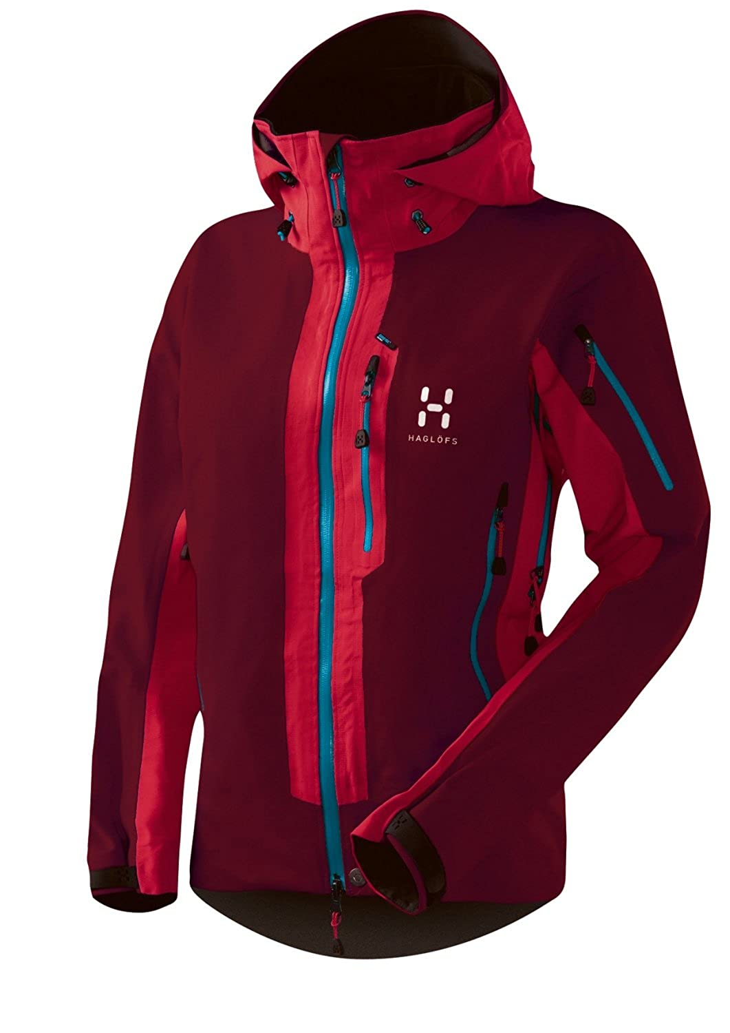 Haglöfs COULOIR Q JACKET MELLOW RED/ DEEP RED, L