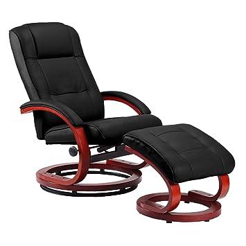 Massage-Fernsehsessel Relaxsessel Pescatori II, Massagefunktion ~ schwarz