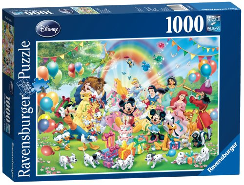 Ravensburger 19019 - Mickey Compleanno Jigsaw Puzzle (1000 pezzi)