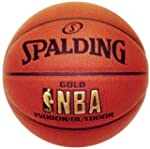 Spalding NBA Gold Indoor Outdoor Bask...