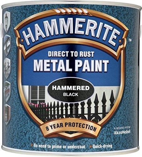 Hammerite Metal Paint Hammered 2.5L Black