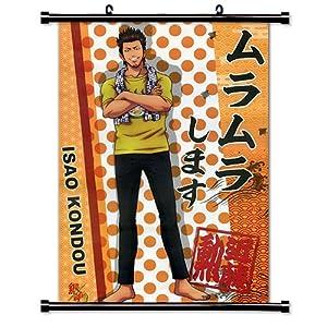 Amazon Com Gintama Anime Fabric Wall Scroll Poster 32 X