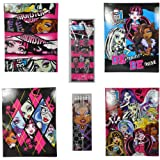 Monster High Back to School School Supply Bundle - Includes Many of the Basics - 12 Pc Set
