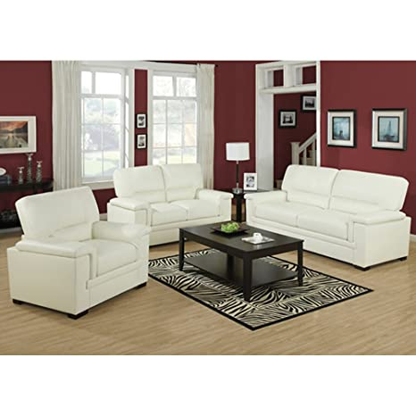 Loveseat Color: Ivory
