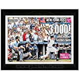 Derek Jeter 3000th Hit Framed NY Post Full Page Cover 15