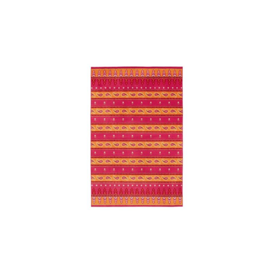Shaw Maharani/Watermelon Printed Area Rug                                  3 x 410