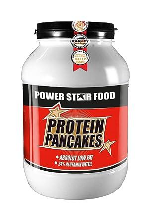 PROTEIN PANCAKES, Dose 1000 g, bis zu 40 Pancakes, hochwertiger Proteinfraktion mit 24% Glutaminanteil. Geschmack: Natur