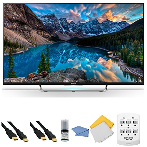 Sony KDL-50W800C - 50-Inch 120Hz 3D Android Smart LED HDTV + Hookup Kit