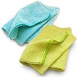 ブルーム なめらかホイップ ボディタオル とうもろこし繊維100% 弱酸性 2枚セット (おまかせカラーセット)