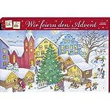 Wir feiern den Advent: Unsere schönsten Weihnachtsbräuche in 24 Büchlein