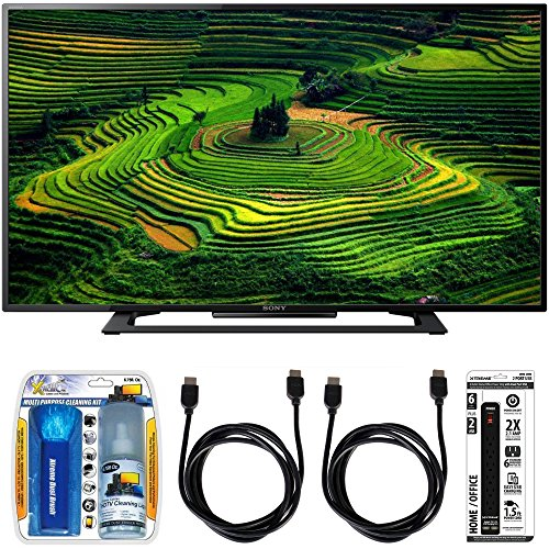 save 17 sony kdl 40r350d 40 class premium hd 1080p led tv w accessory bundle includes tv. Black Bedroom Furniture Sets. Home Design Ideas