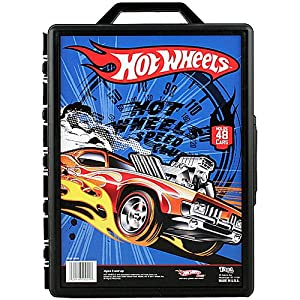 Hot Wheels 48 Car Carrying Case [Blue] at Sears.com