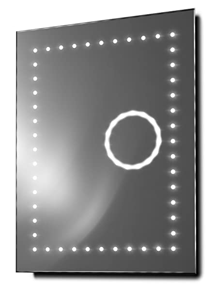 Eclipse Ultra-Slim 3X Magnification Bathroom Mirror With Demister & Sensor k99
