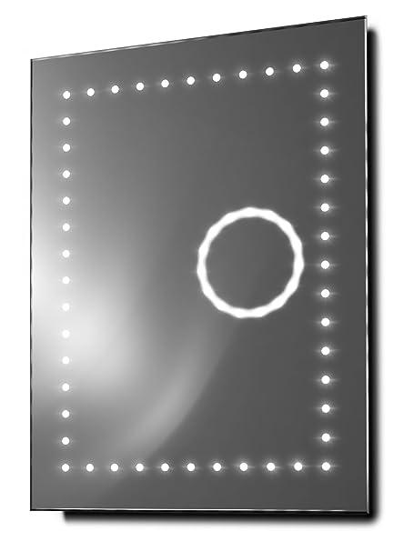 Eclipse Ultra-Slim 3X Magnification Bathroom Mirror With Demister & Sensor k99