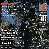 Mozart: Concerto No. 10, K365; Concerto No. 12, K414; Trio, K502