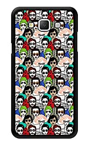 "Humor Gang People Are Strange Printed Designer Mobile Back Cover For ""Samsung Galaxy j5"" (3D, Glossy, Premium Quality Snap On Case)"