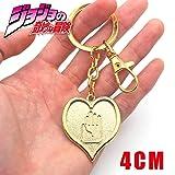 Momoso_Store Jojo Jojo's Bizarre Adventure Jotaro Kujo Killer Queen Arrow Asb Metal Pendant Keychain Keyring Cosplay Collection (Color: F, Tamaño: 5.5CM)
