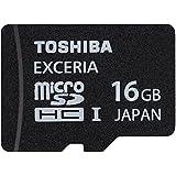 東芝 Toshiba microSDHC UHS-I 16GB EXCERIA超高速95MB/秒 日本製、パッケージ品 並行輸入品