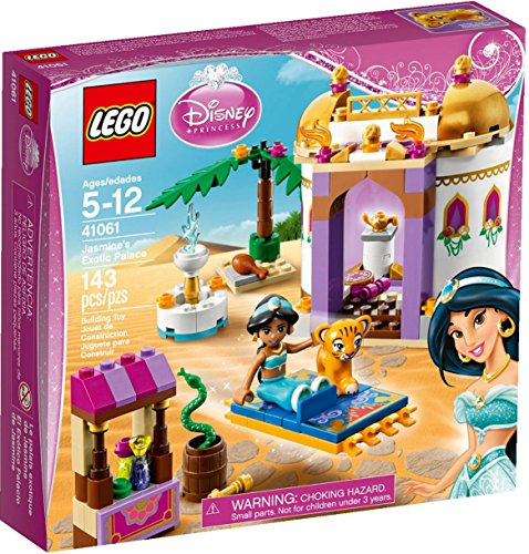 Lego Disney Princess Jasmine's and Rajah the Tiger Exotic Palace 5+ years (Barbie Basics Accesory Pack compare prices)