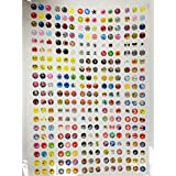 SODIAL(R) 300 x autocollant pour bouton Home pour iphone4/4s/5 ipad