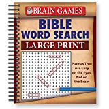 img - for Brain Games: Bible Word Search (Large Print) book / textbook / text book