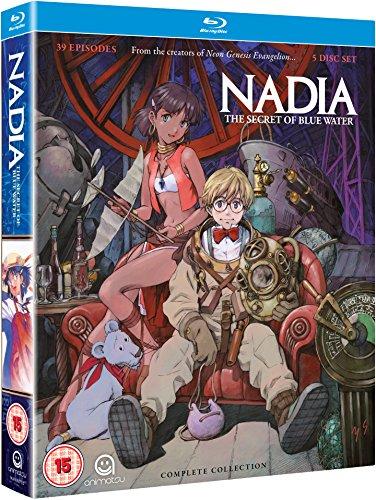 Nadia: Secret of Blue Water (Complete Collection) - 5-Disc Box Set ( Fushigi no umi no Nadia ) ( Nadia: The Secret of Blue Water (39 Episodes [ NON-USA FORMAT, Blu-Ray, Reg.B Import - United Kingdom ]