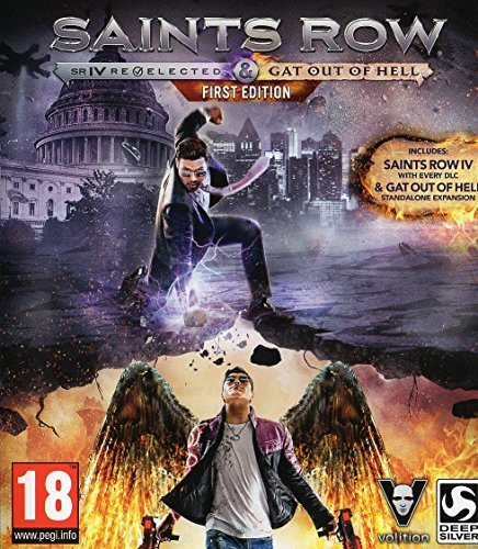 Saints Row IV Re-elected & Saints Row: Gat Out of Hell - First Edition (XBOX ONE) by Deep Silver (Saints Row Re Elected Xbox One compare prices)