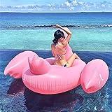 Schne-Giant-Float-Spielzeug-Rideable-Flamingo-Dem-Wasser-Schwimmt-International-Leisure-Schwimminsel-mit-frei-pumpe