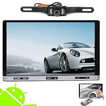 Coche 7 pulgadas d'šŠcran miroir multimšŠdia capacitiva Android Lecteur DVD 4.2 insignes del coche par Universal Double Din Jefe Audio Unidad con 1GB DDRS, GPS navegaciš®n, Bluetooth, Ipod, wifi gratuito Mš&su