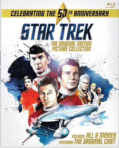 Blu-ray : Star Trek: The Original Motion Picture Collection (Boxed Set, Widescreen, , Dubbed, Repackaged)