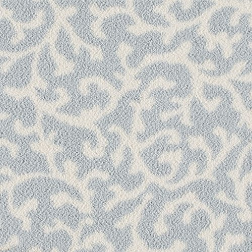 Coral Springs Milliken Square Indoor Cut Pile (40 oz.) Area Rug (Coastal Blue, 2'x3')