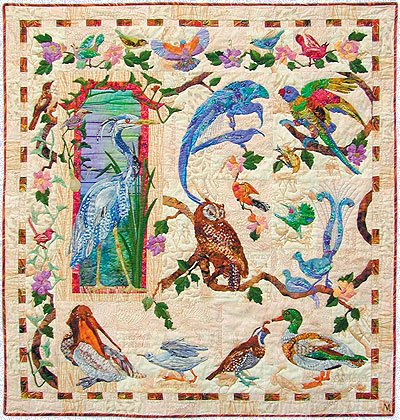 Feather & Song Series Maggie Walker 9 Applique Quilt Patterns