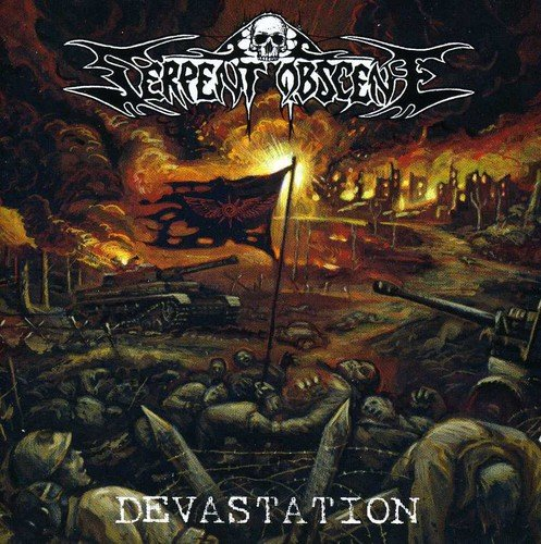 CD : Serpent Obscene - Devestation (CD)
